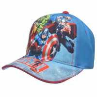 Character Peak Cap Childrens Avengers Шапки с козирка