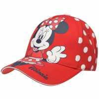 Character Peak Cap Childrens Minnie Mouse Шапки с козирка