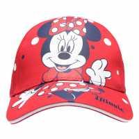 Character Peak Cap Childrens Minnie Mouse2 Шапки с козирка