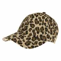 Golddigga Fashion Cap Womens Leopard Print Шапки с козирка