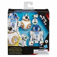 Star Wars R2-D2, Bb-8, D-O Action Figure 3-Pack  Трофеи