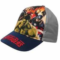 Character Peak Cap Avengers Navy Шапки с козирка