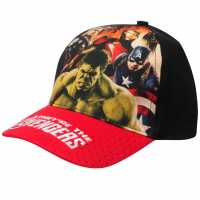 Character Peak Cap Avengers Red Шапки с козирка