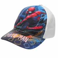 Character Peak Cap SpidermanWhite2 Шапки с козирка