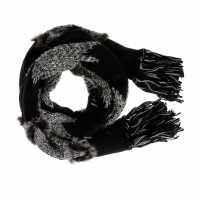 Sportalm Aliens Scarf Lds43 Black Ръкавици шапки и шалове