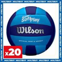 Wilson 20 X Super Soft Play Volleyballs  Волейбол