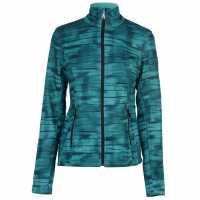 Spyder Дамско Яке Endure Novelty Jacket Ladies WDL/Baltic Дамски долни дрехи