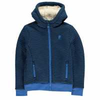 Nevica Яке Момчета Gaber Front Zip Jacket Junior Boys Blue Детски полар