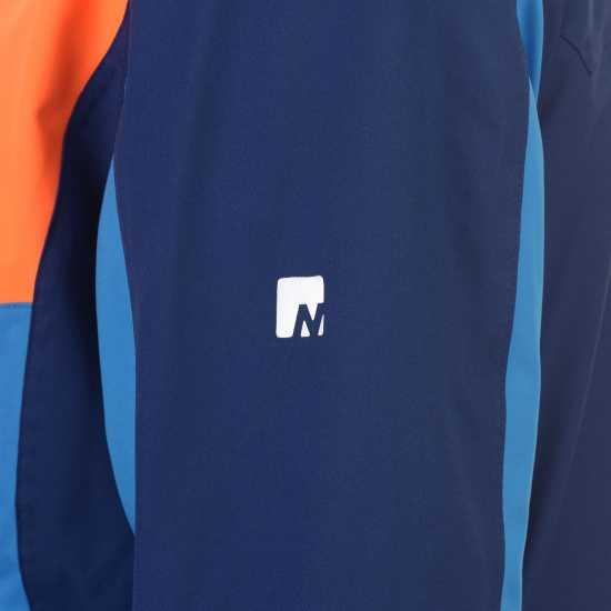 Nevica Мъжко Яке Brixen Snowboarding Jacket Mens Blue/Orange Мъжки якета и палта