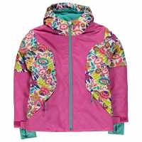 Spyder Ски Яке Момичета Dreamer Ski Jacket Junior Girls White Large Diz Детски якета и палта