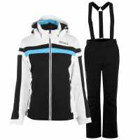 Nevica Nancy Ski Suit Ladies Black/White Дамски ски якета