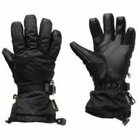 Burton Дамски Ски Ръкавици Process Gtx Ski Gloves Ladies Black Ръкавици шапки и шалове