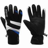 Nevica Vail Junior Ski Gloves Black/Blue Ръкавици шапки и шалове