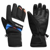 Nevica Vail Ski Gloves Black/Blue Ръкавици шапки и шалове