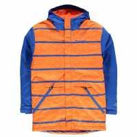 Columbia Детско Яке Slope Star Jacket Junior Blue/Orange Детски якета и палта