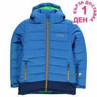 Nevica Детско Пухено Яке Bubble Jacket Junior Girls Blue Детски якета и палта