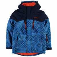 Campri Яке Момчета Ski Jacket Junior Boys AOP Детски якета и палта