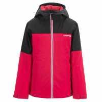 Oneill Яке Момичета Allure Jacket Junior Girls Black/Red Детски якета и палта