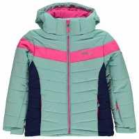 Nevica Детско Пухено Яке Bubble Jacket Juniors Blue/Pink Детски якета и палта
