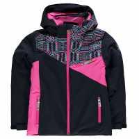 Spyder Яке Момичета Project Jacket Junior Girls Blue/Pink Детски якета и палта
