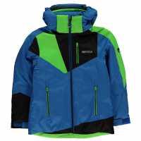 Nevica Яке Момчета Vali Ski Jacket Junior Boys Blue/Green Детски якета и палта