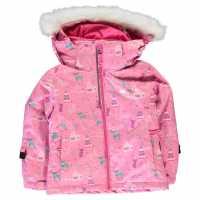 Nevica Яке За Ски Lech Ski Jacket Infant Pink Детски якета и палта