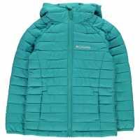 Columbia Powder Jacket Unisex Juniors Geyser Детски якета и палта