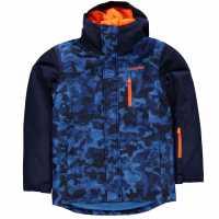 Campri Детско Ски Яке Patterned Ski Jacket Junior AOP Детски якета и палта
