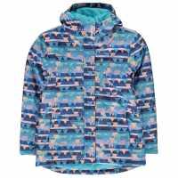 Campri Детско Ски Яке Ski Jacket Junior AOP Детски якета и палта
