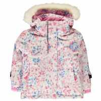Nevica Яке Момичета Lech Ski Jacket Infant Girls Pink Детски якета и палта