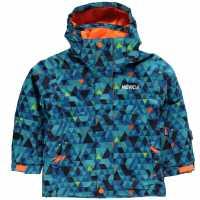 Nevica Яке Момичета Lech Ski Jacket Infant Girls Blue Детски якета и палта