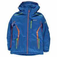 Nevica Детско Яке Meribel Jacket Junior Blue/Orange Детски якета и палта