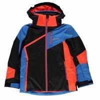 Nevica Яке Момчета Vail Ski Jacket Junior Boys Black/Red Детски якета и палта