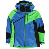 Nevica Яке Момчета Vail Ski Jacket Junior Boys Blue/Lime Детски якета и палта