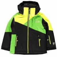 Nevica Яке За Невръстни Деца Meribel Jacket Infants Black/Green Детски якета и палта