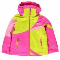 Nevica Яке За Невръстни Деца Meribel Jacket Infants Pink/Yellow Детски якета и палта