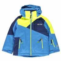 Nevica Яке За Невръстни Деца Meribel Jacket Infants Blue/Yellow Детски якета и палта