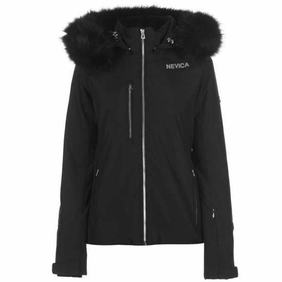 Nevica Дамско Яке За Ски Banff Ski Jacket Ladies Black Дамски якета и палта