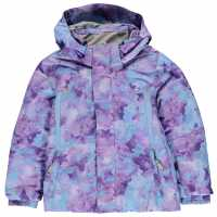 Spyder Glam Jacket Child Girls Lilac Детски якета и палта