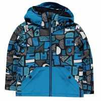 Quiksilver Яке Малки Момчета Little Mission Snow Jacket Infant Boys Blue Детски якета и палта