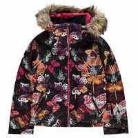 Roxy Ски Яке Момичета Jet Ski Jacket Girls Pink Детски якета и палта