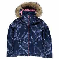 Roxy Ски Яке Момичета Jet Ski Jacket Girls Blue Детски якета и палта