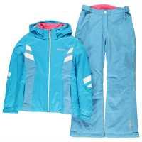 Colmar Детски Ски Екип P2Lj Ski Suit Junior Girls Blue Детски якета и палта