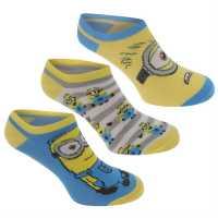 Character Socks Minions Детски чорапи