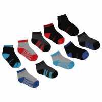 Claremont 10Pk Sock Inb00 Blue Multi Детски чорапи