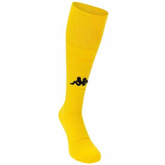 Kappa Футболни Чорапи Winner Football Socks Mens Yellow/Black Мъжки чорапи