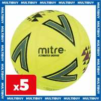 Mitre 5 X Mitre Ultimatch Indoor Footballs  Футболни топки