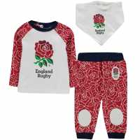 Team England Rugby 3-Piece Set Baby Boys