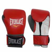 Everlast Boxing Gloves Red/Grey Боксови ръкавици