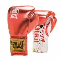 Everlast 1910 Fight Glv05 Metallic Red Боксови ръкавици